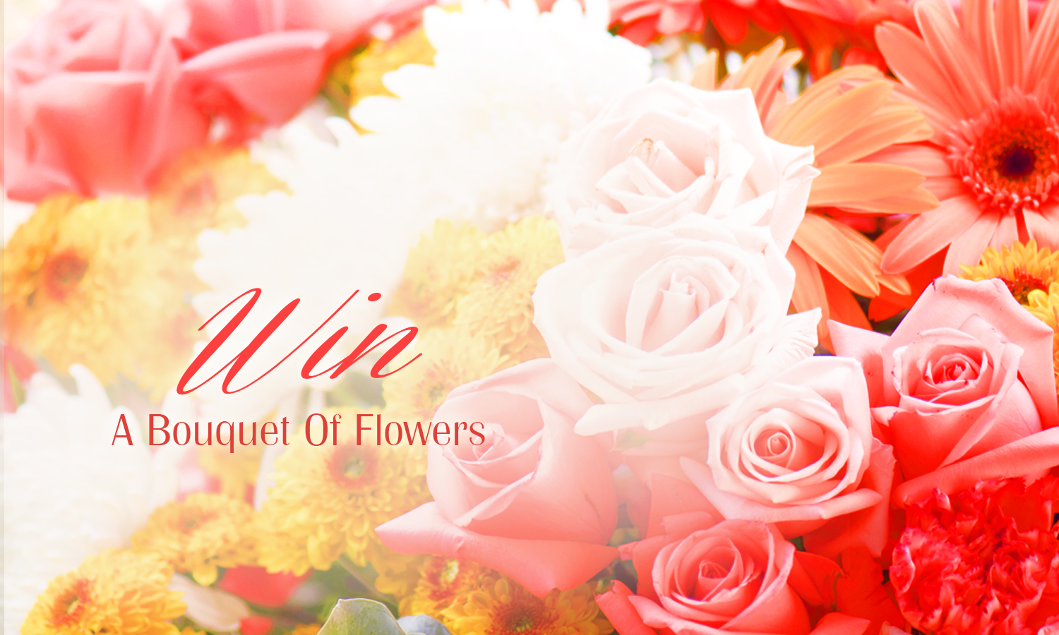 Win a bouquet of flowers free competitions winnersville win a bouquet of flowers izmirmasajfo