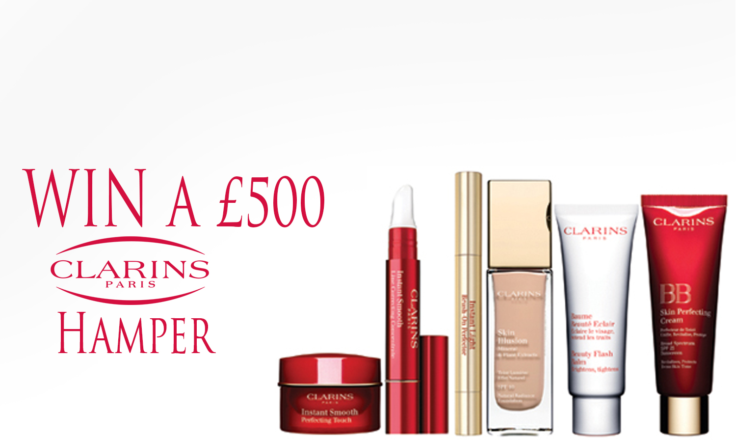 Win a £500 Clarin's Hamper | Free Competitions | WINNERSVILLE.co.uk