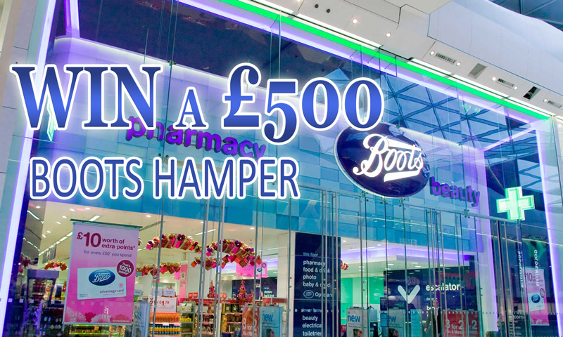Win a £500 Boots Hamper
