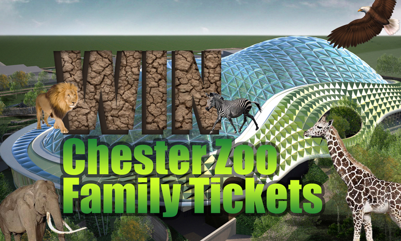 Win Chester Zoo Family Tickets