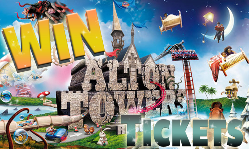 Win  Alton Towers Tickets
