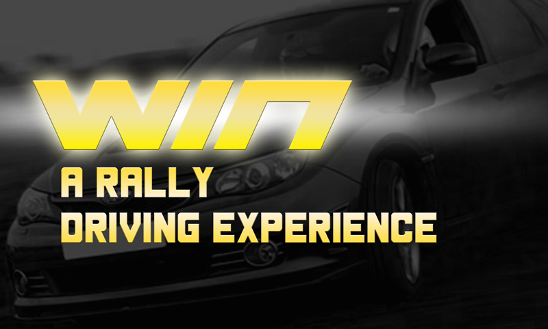 Win A Rally Driving Experience