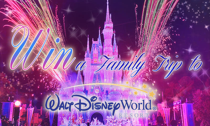 Win a Family Trip to Disney World
