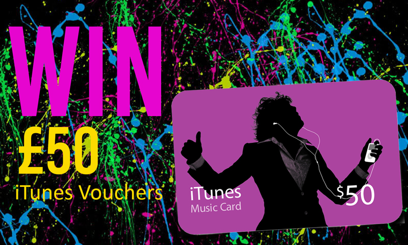 Win £50 iTunes Vouchers