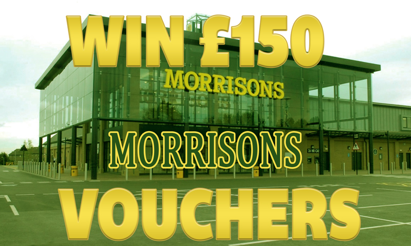 Win £150 Morrisons Vouchers