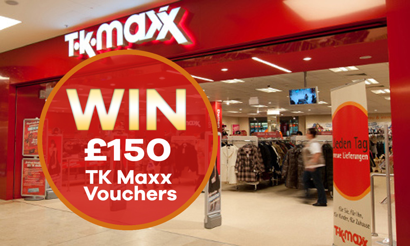 Win £150 TK Maxx Vouchers