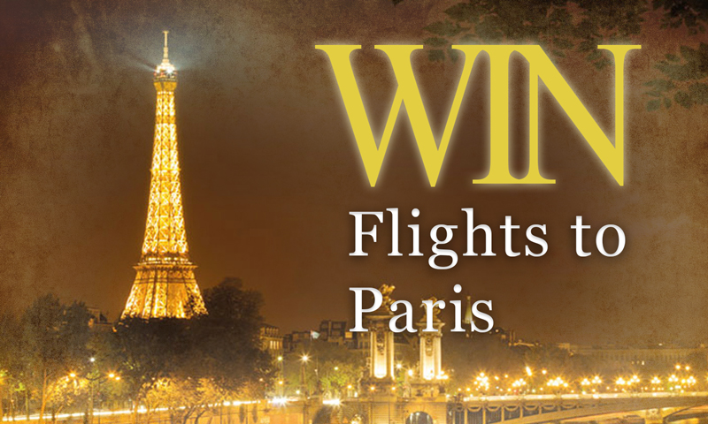 Win Flights to Paris