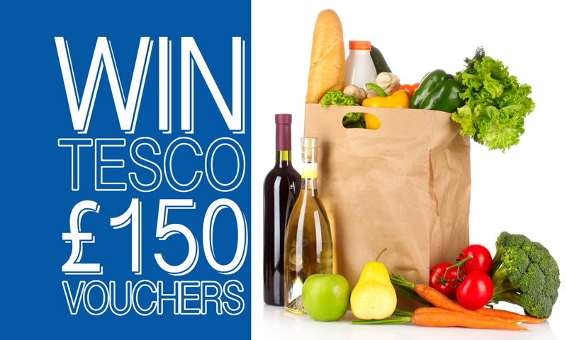 Win £150 Tesco Shop