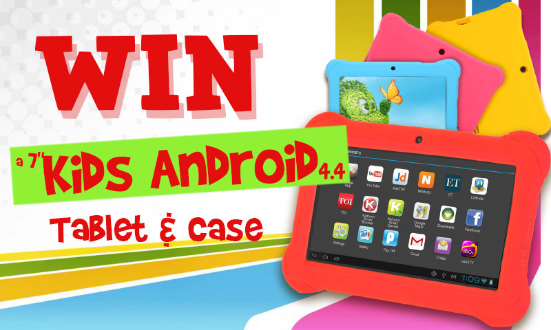 "Win 7"" Kids Android Tablet and Case"