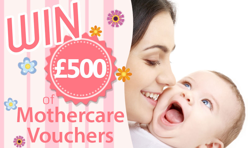 Win £500 Mothercare Vouchers