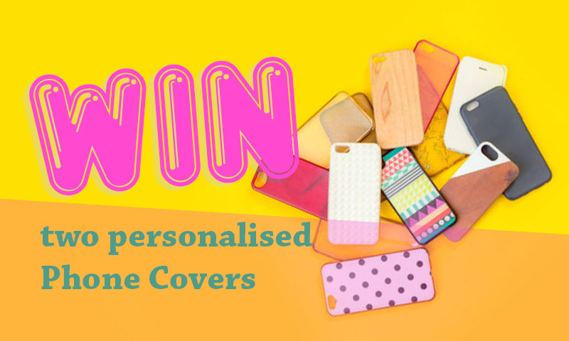 Win Two Personalised Phone Covers
