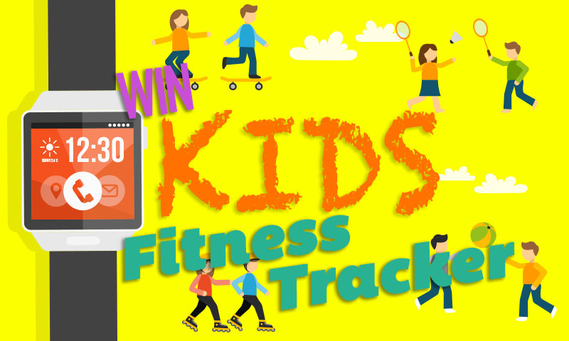 Win X Doria Kids Fitness Tracker